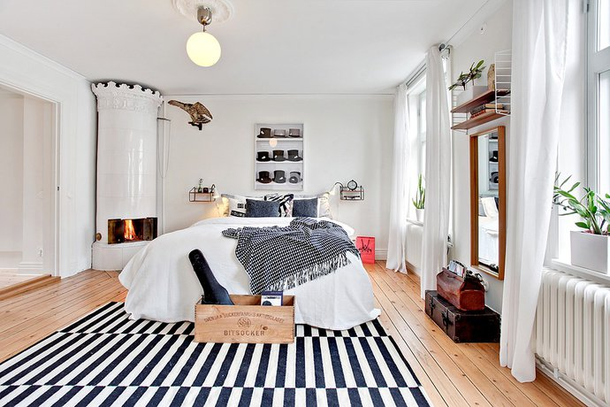 9 - Scandinavian Bedroom