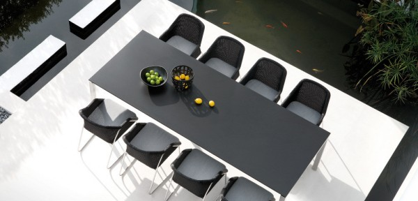 Black-outdoor-table
