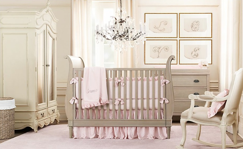 baby girl nursery on - photo #20
