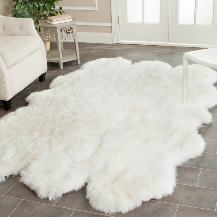 10 Cozy Colorful Soft Sheepskin Rugs Interior Design Ideas : Safavieh Hand woven Sheepskin White Rug 3 x 5 f31d80b8 7d60 4e6e b154 4b79e07b3aba 700x700 from www.faburous.com size 700 x 700 jpeg 198kB