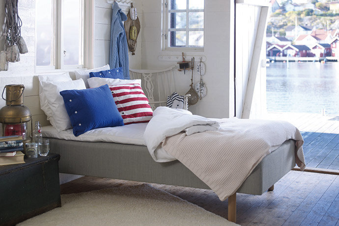 Scandinavian Style Home bedroom