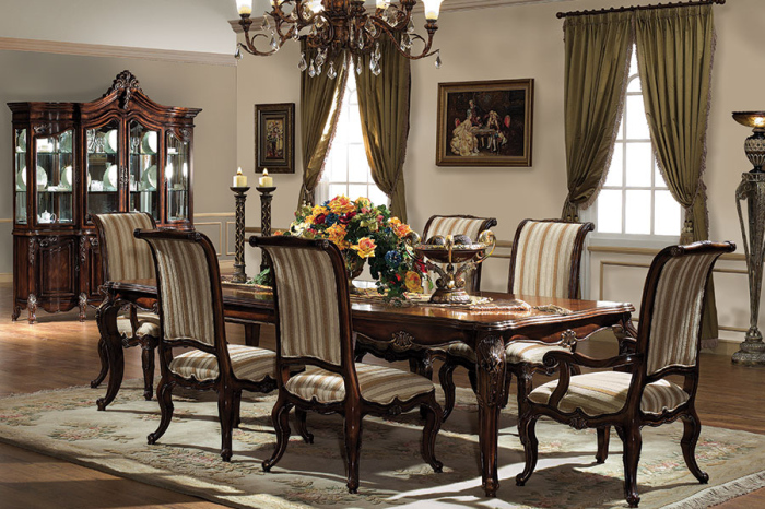 Ambrose Hilliard Victorian style dining room