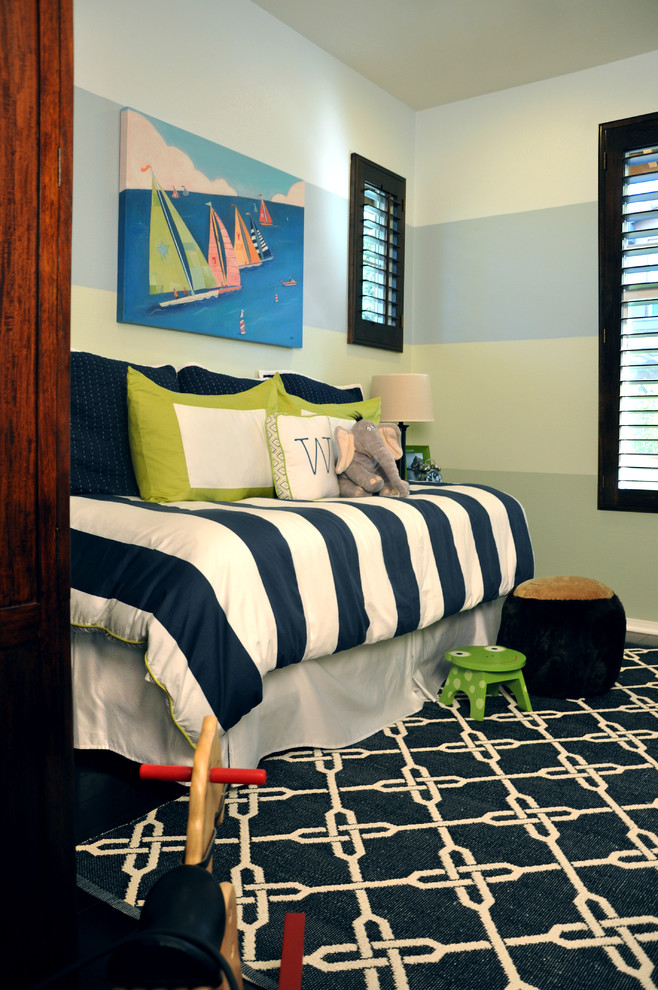 beach style kids small bedroom