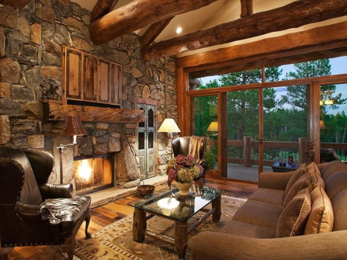 country side living room