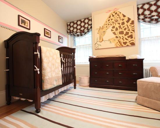 contemporary-chocolate-furniture-baby-nursery