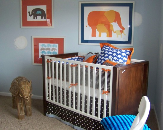 contemporary-L-shaped-baby-nursery