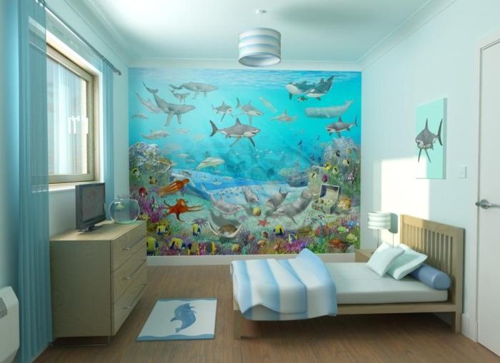 Fish Aquarium wall paper