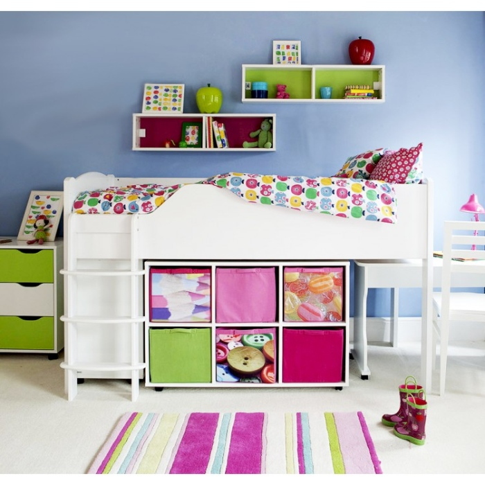 girls-white-bunk-bed