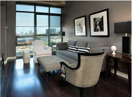 grey living room design