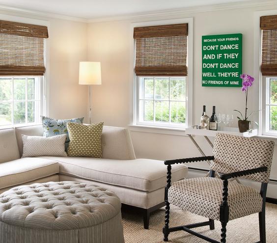green-artwork-living-room