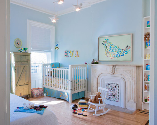 light-blue-baby-nursery design