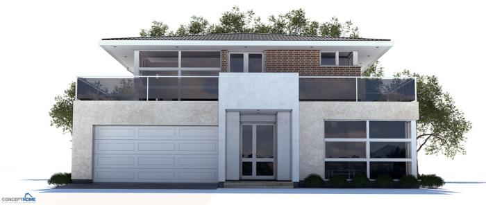 modern houses house plan