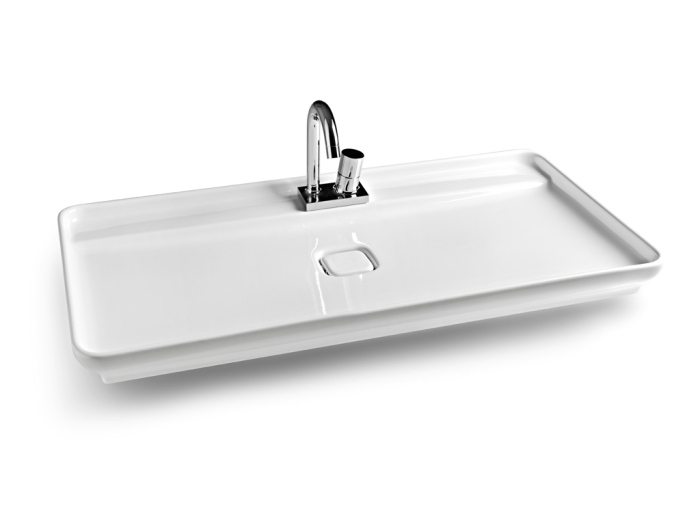 modern plain wash basin