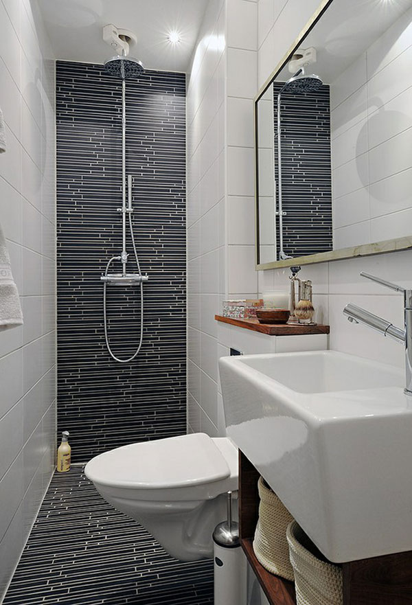 Unique ideas for designing your small space bathroom for Tiny space bathrooms
