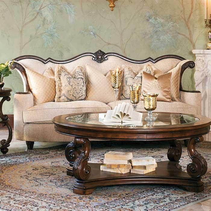 victorian style elegant sofa