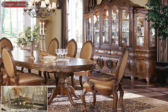 Victorian style caravelle dining room