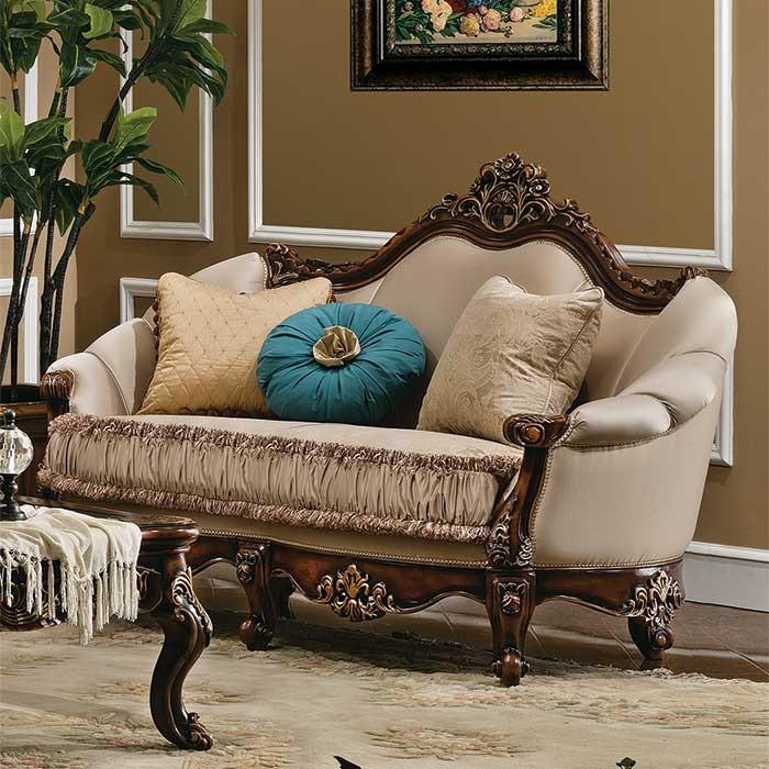 victorian style loveseat design