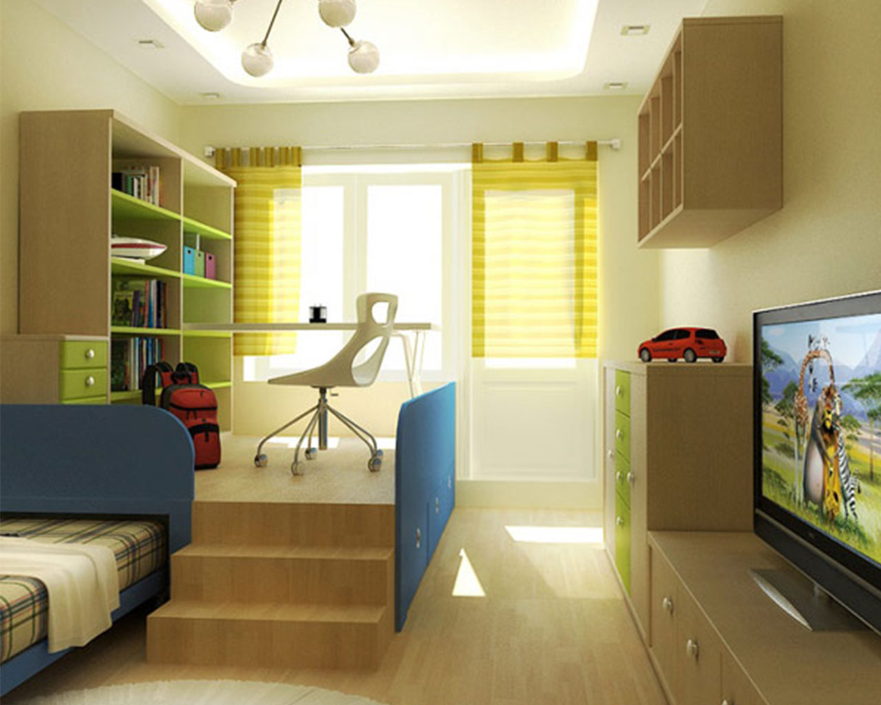 Cool teenage bedroom ideas for boys for Teenage bedroom designs