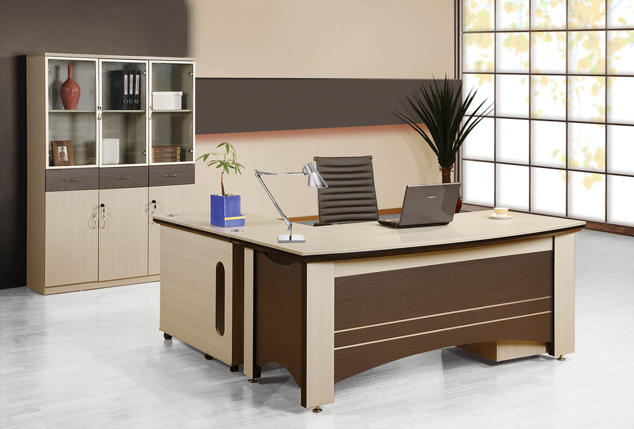 Sophisticated Executive Desk