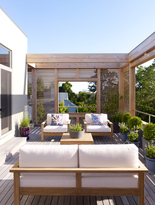 Modern Summer House Garden Design