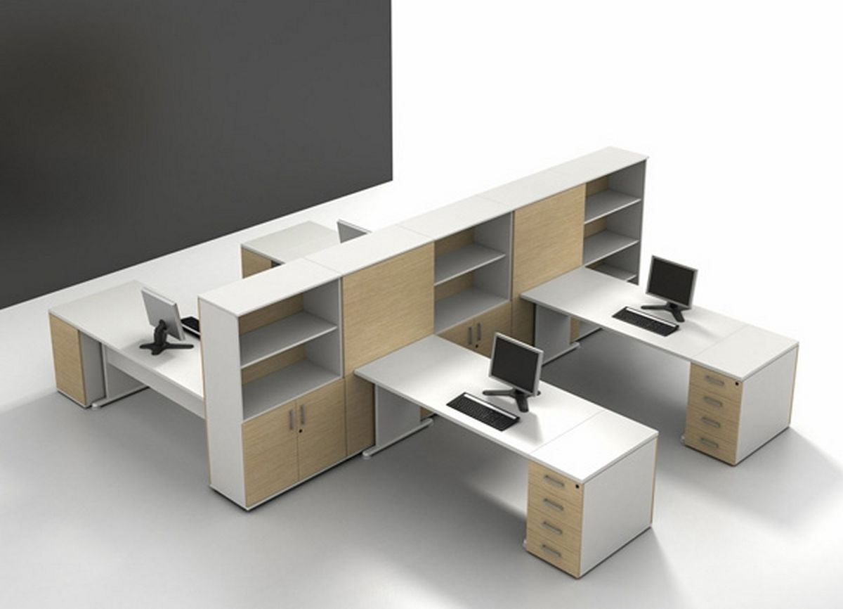 How to design your office with the best office desk for Office desk layout ideas