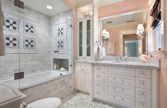Elegant Light Beige Bathroom