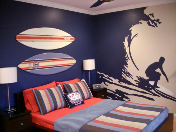 Perfect Surfing Design Bedroom