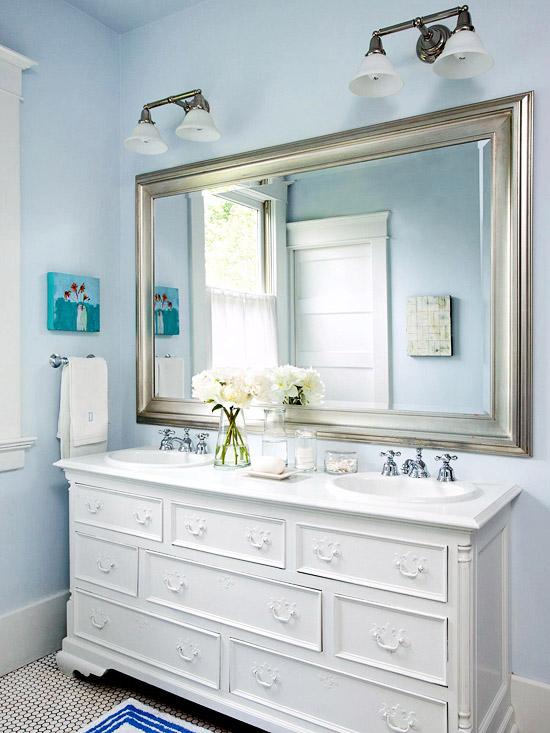 Console Style Sink Bathroom
