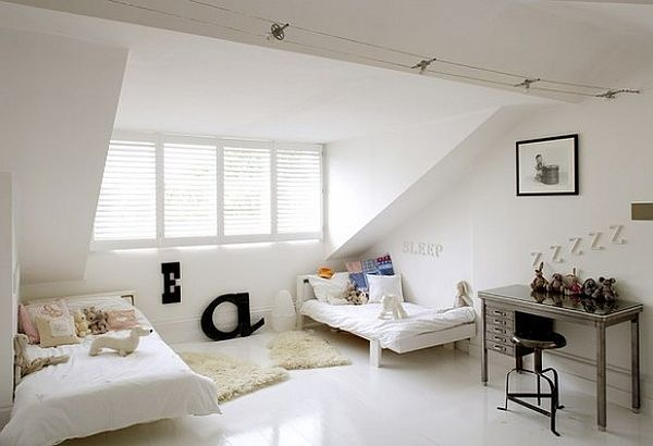 Great designs for an attic room An attic room