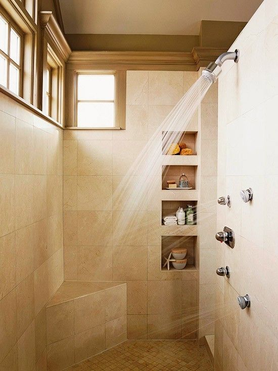 Simple Bathroom with Nice Shower