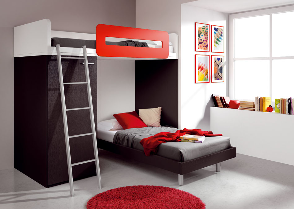 Cool teenage bedroom ideas for boys for Cool bedroom ideas for small rooms
