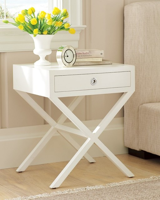how to make a wooden bedside table