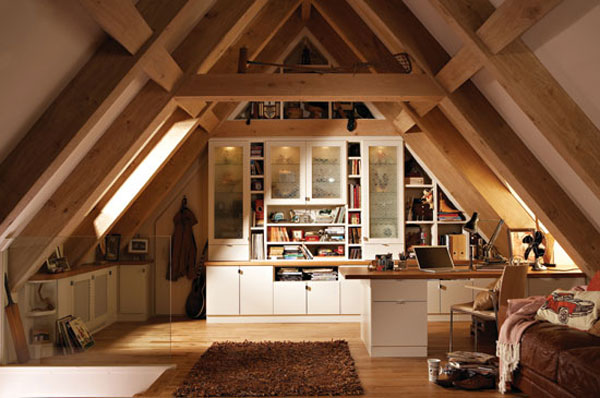 Perfect Triangular Attic