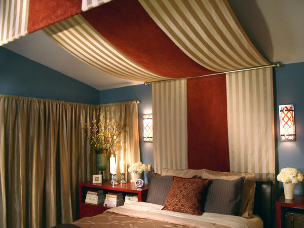 Fabric Canopy Headboard