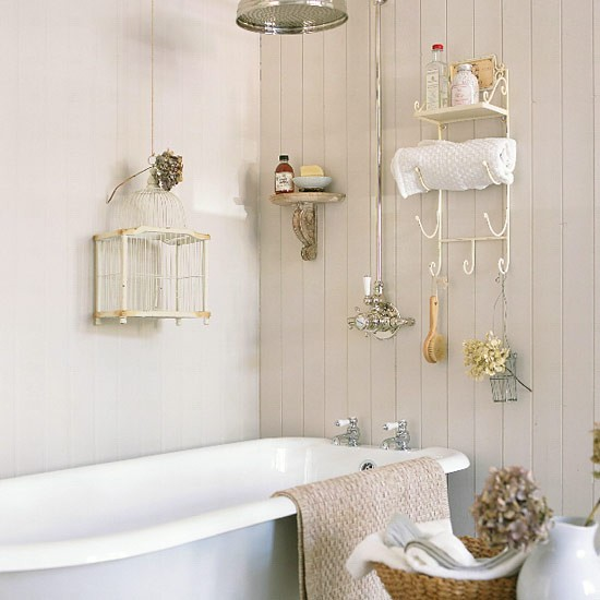 Simple Design with Smart Storage Bathroom