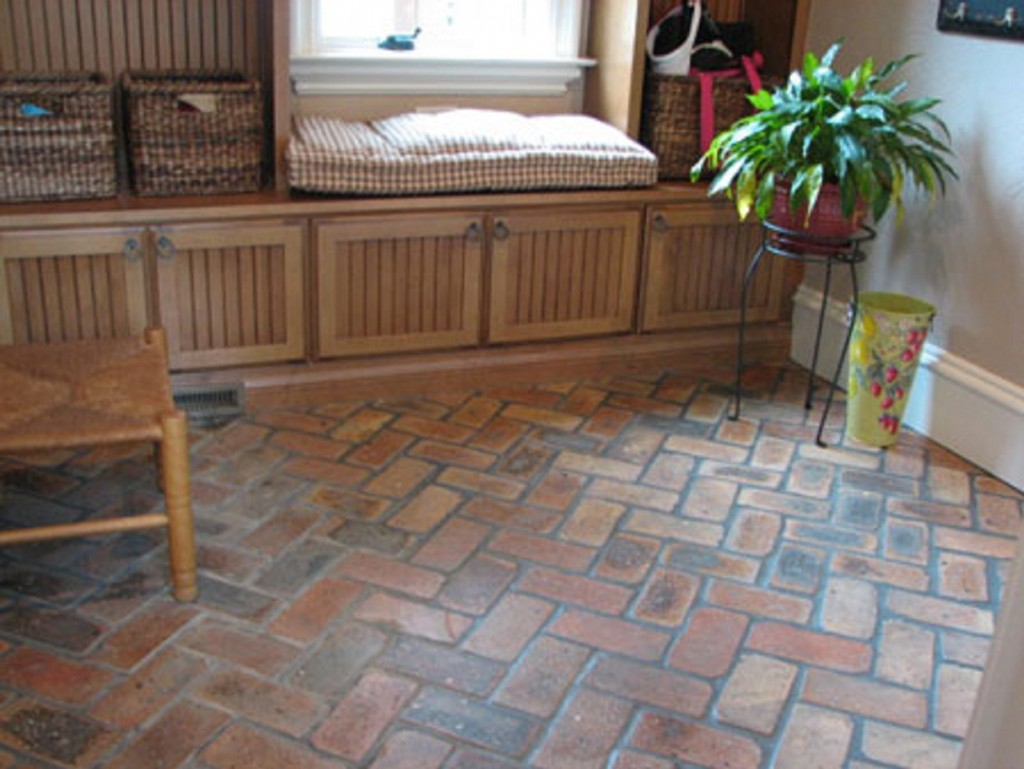 Brick Tile Flooring Design