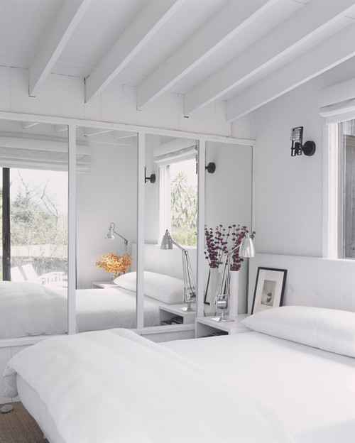 Modern Drenched  Style Bedroom