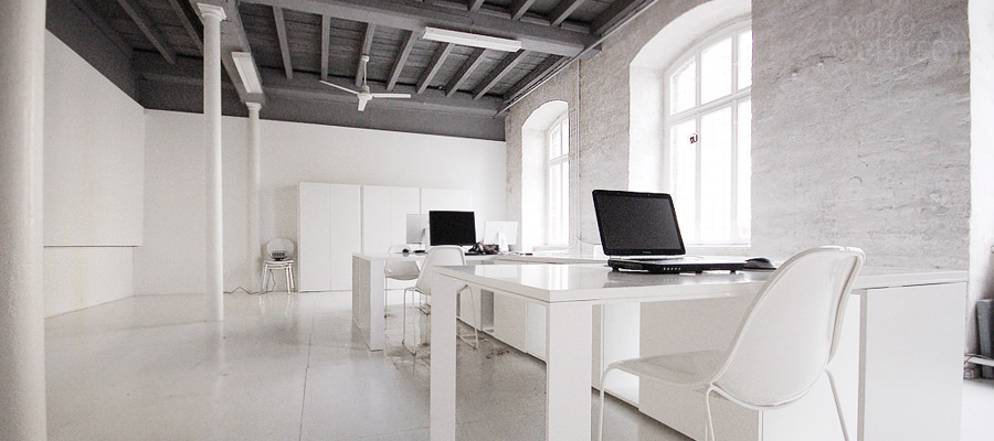 6. Simple Office Decorated and Open Spaced Style