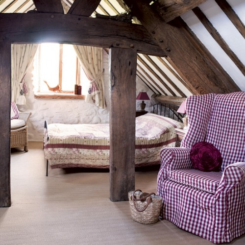 Country Style Designed Bedroom
