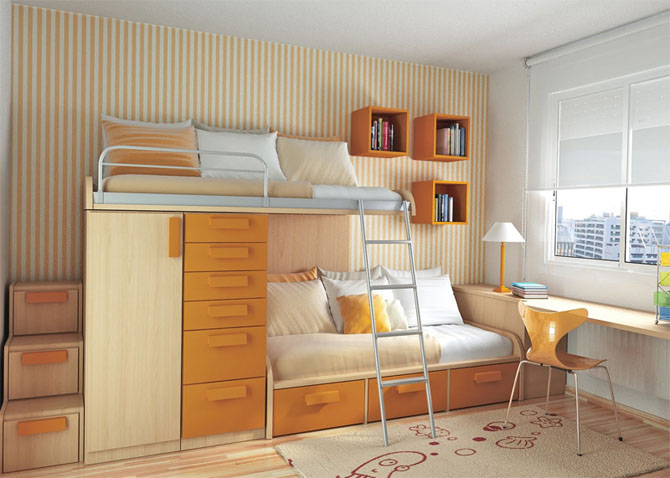 Classy Minimalist Style Bedroom