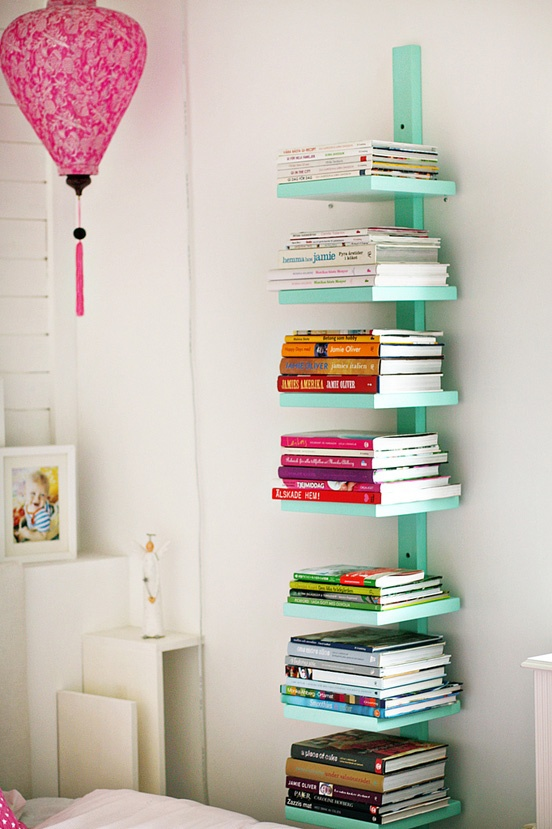 Creative Tall Shelves Design