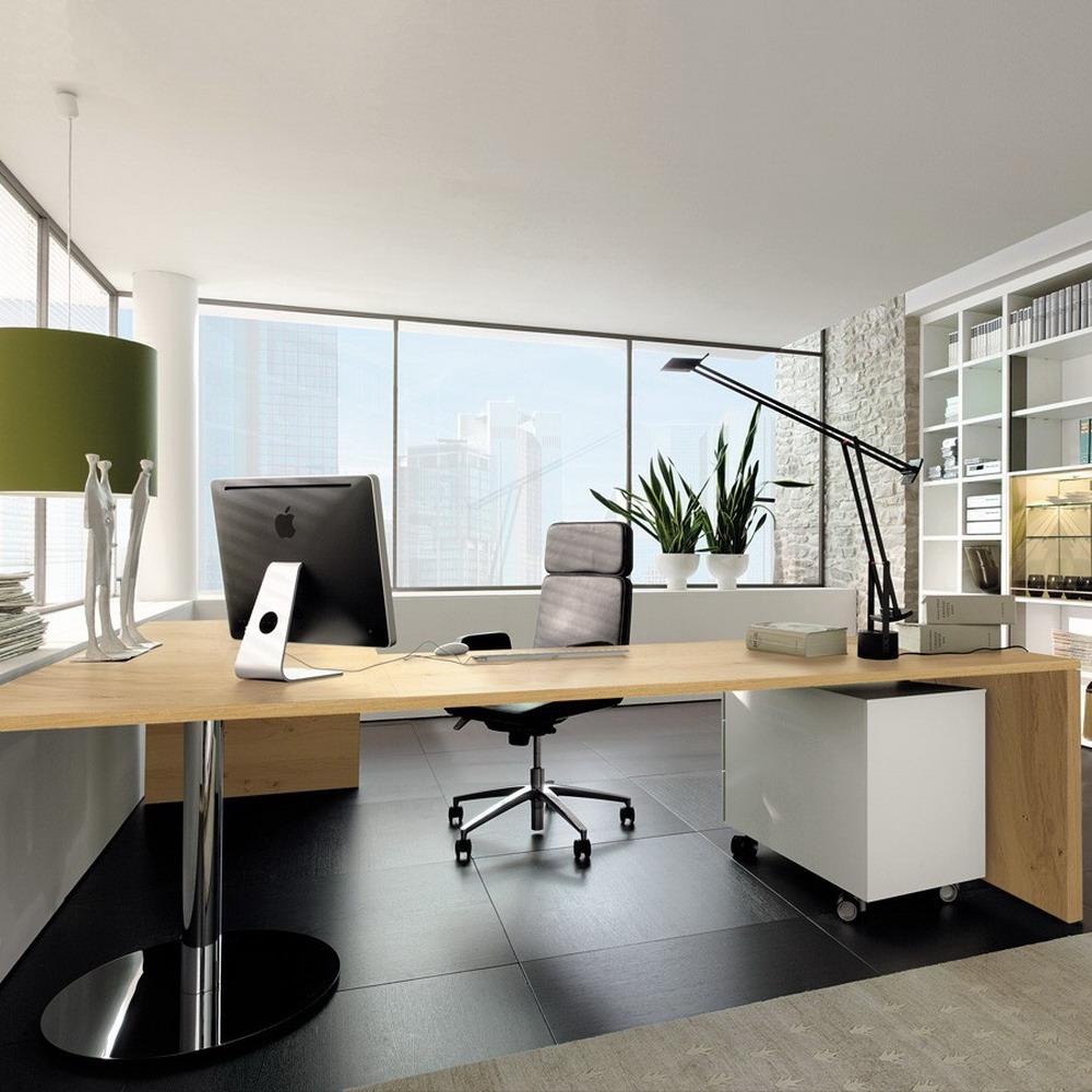 Wood Corner Computer Table in Stunning Office Desk