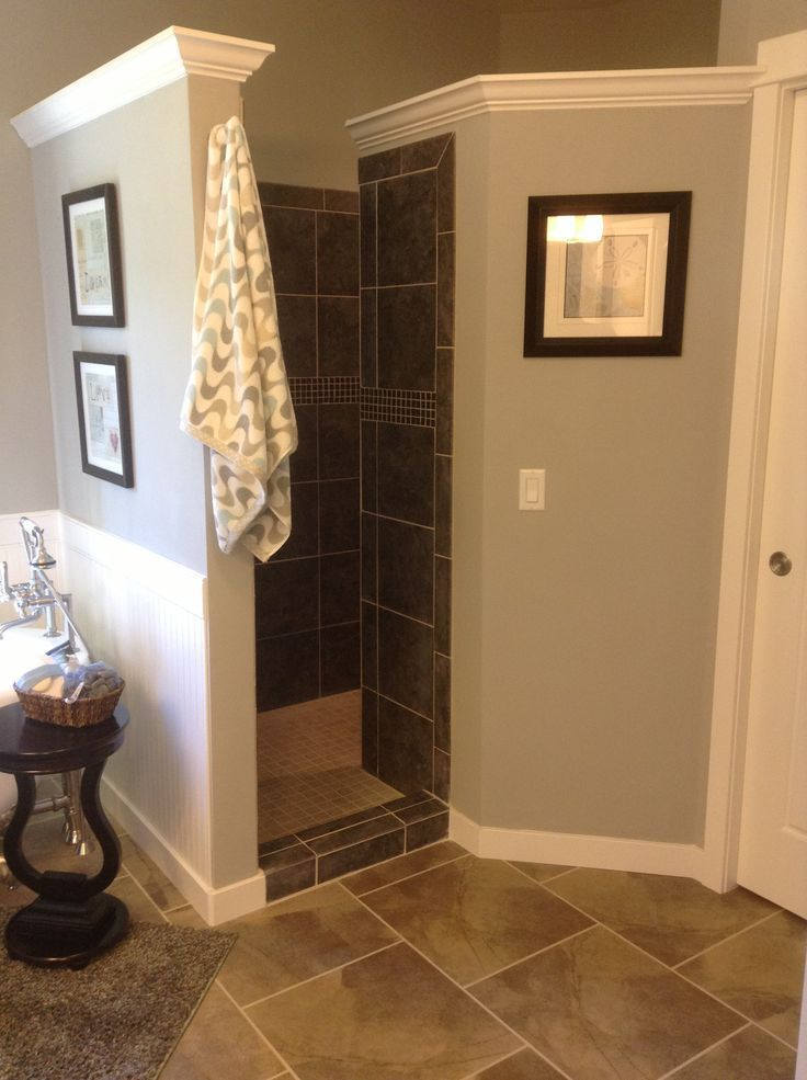 Walk in Shower Area