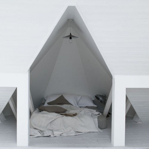 Visually Attractive Attic Bedroom