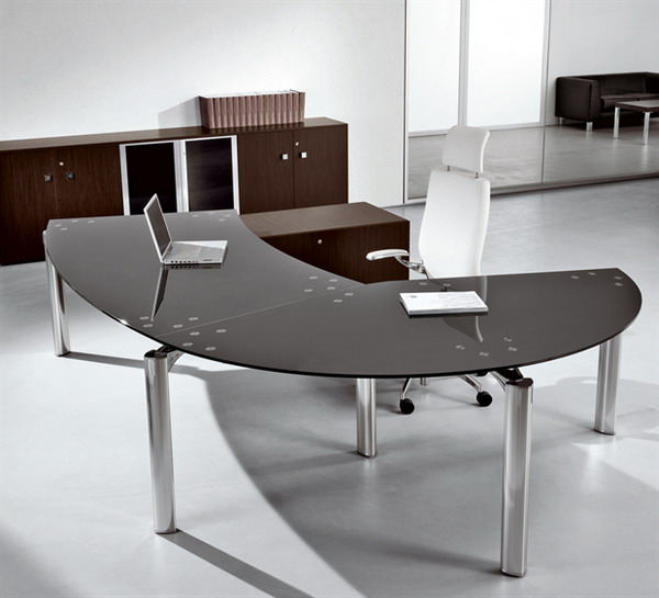 Semi Circular Desk Design