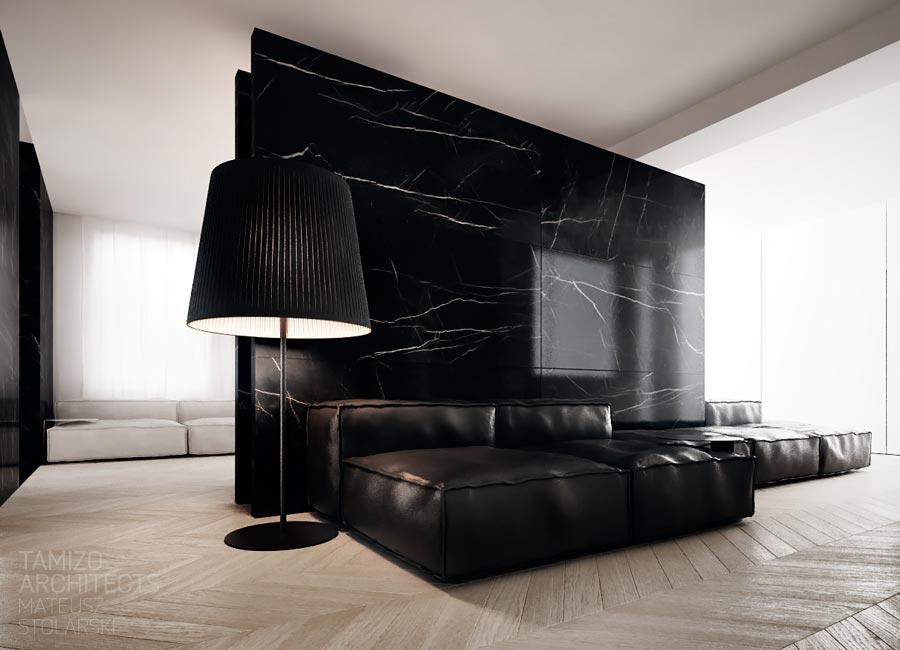 9. Black Room Divider