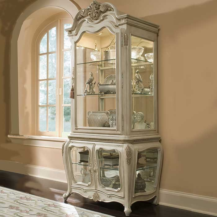 victorian style caravelle-pearl  curio