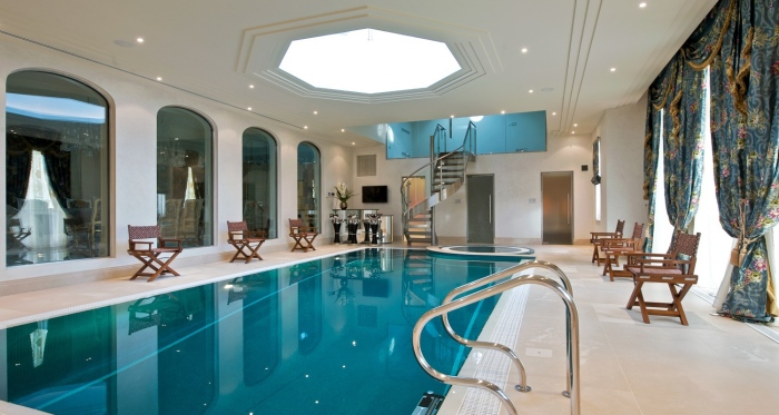 modern swimming indoor swimming pool
