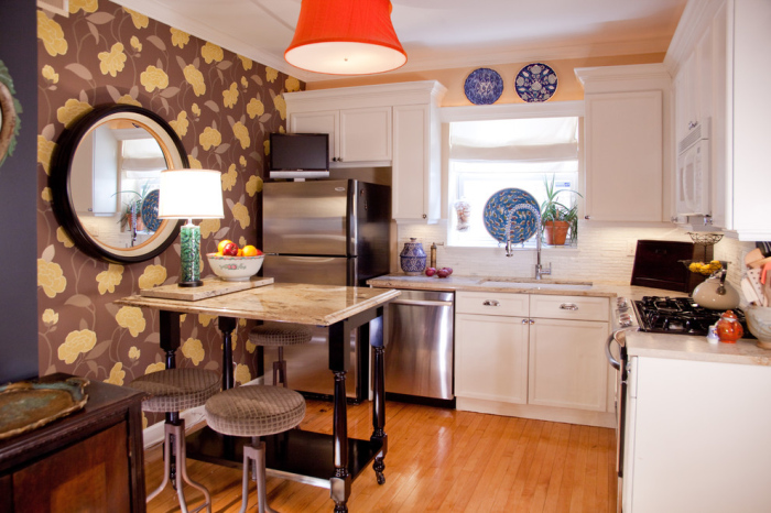 Eclectic-L-shaped-Kitchen