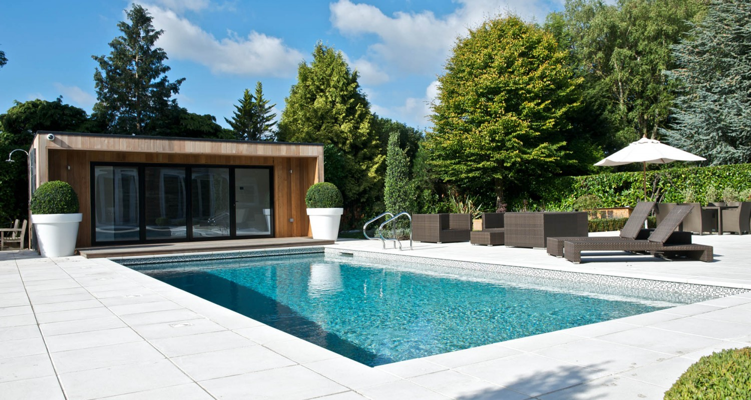 10 amazing outdoor swimming pool designs. Black Bedroom Furniture Sets. Home Design Ideas